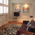Chiltern Street Serviced Premium 1 Bedroom Apartment - Lounge