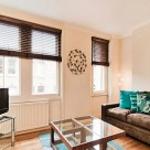 Chiltern Street Serviced Executive 1 Bedroom Apartment - Lounge