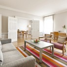 Metropolitan Apartments Serviced 2 Bedroom - stunning lounge