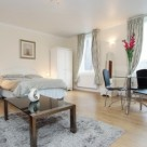 Soho Square Studio Apartment for Short Let