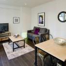 Creechurch Serviced 1 Bedroom in City - Stylish Lounge