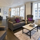 Creechurch Serviced 2 Bedroom in City - Fully Furnished Lounge