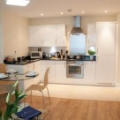 Hammersmith Serviced 1 Bedroom - contemporary kitchen