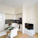 St Martins Court Covent Garden Serviced 1 Bedroom - Kitchen