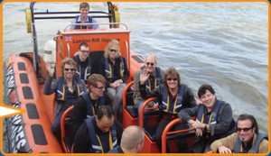 London RIB Speedboat