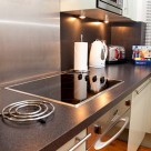 Pepys Street Serviced Apartment - open plan kitchen