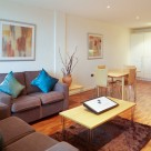 Waterloo Serviced 2 Bedroom Apartment - Contemporary lounge