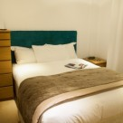 Brushfields Serviced Apartments - Soothing Bedroom with quality linen
