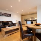 Lexington Apartments in Slough - comfortable lounge with dining area