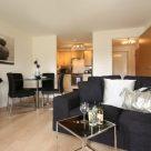 Kelvin Gate 1 Bedroom - Luxury lounge